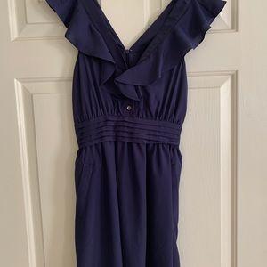 BCBG purple-violet dress